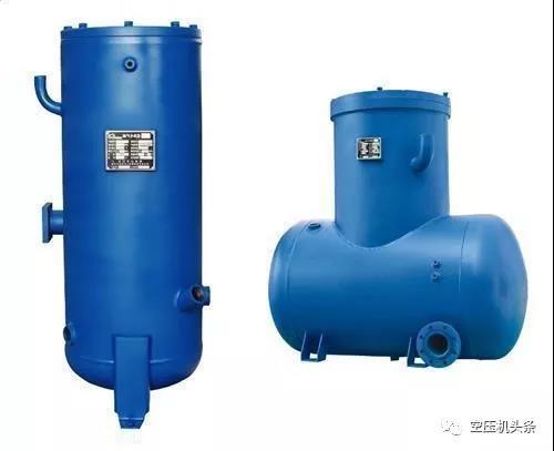 螺杆空压机油分桶的结构和工作原理